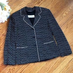Max Mara Embroidered Blazer Jacket